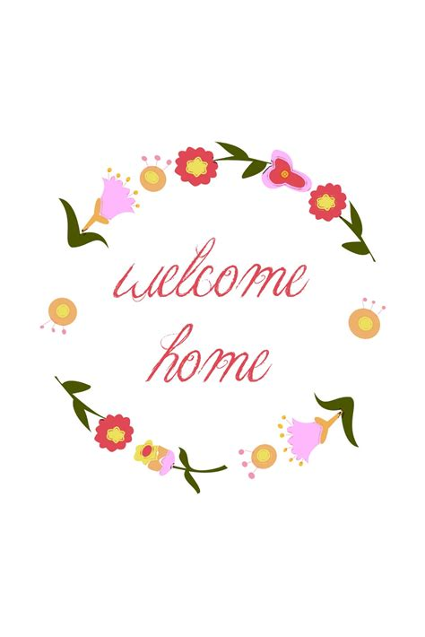 welcome home card papershop