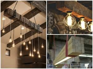 diy kitchen lighting ideas reclaimed wood beams best diy id lights