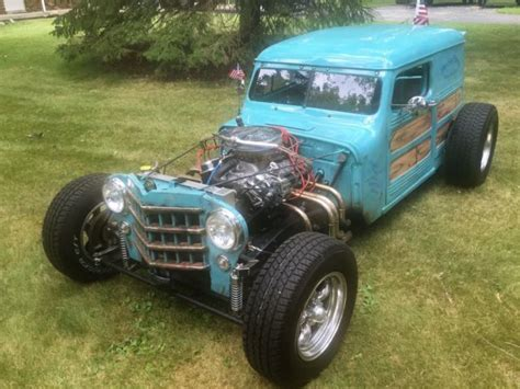 54 Willys Jeep For Sale 54 Willys Surf Wagon Streetrod Ratrod For Sale Other