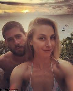 Whitney Port slips into a ****** for honeymoon in Fiji
