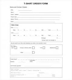 blank order form templates 44 word excel pdf document