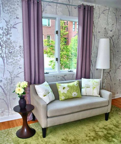 contoh wallpaper dinding ruang tamu minimalis ruang
