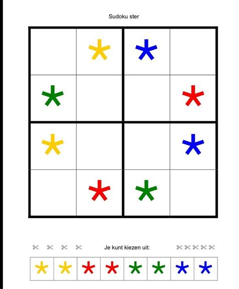 printable sudoku for preschoolers 17 best images about crazy for suduko on pinterest