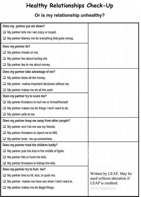 image result for healthy boundaries worksheet therapy