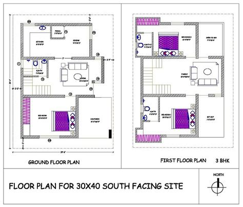 house plan for south facing plot with two bedrooms premium villas vijayanagar 4th stage mysore one