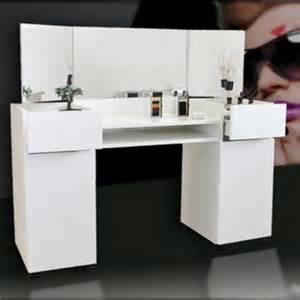 kosmetik tisch kosmetiktisch frisierkommode schminktisch ft 03 weiss
