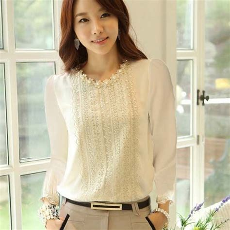 Never Top Blouse Wanita 1000 images about white blouse on