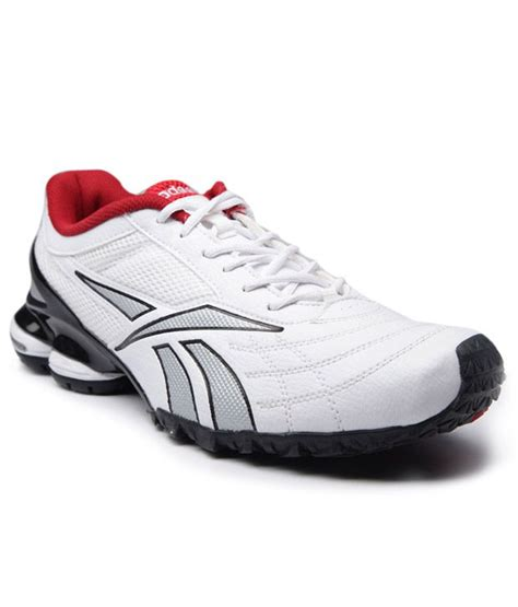 reebok transport white and silver sports shoes