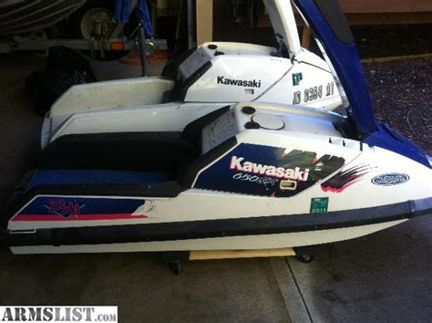 Kawasaki 650 Jet Ski For Sale by Armslist For Sale Trade Two Kawasaki Jet Ski 650sx