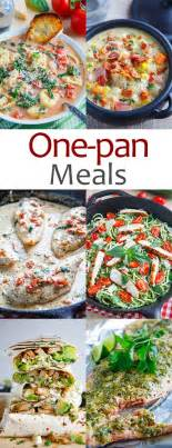 one pan meals closet cooking bloglovin
