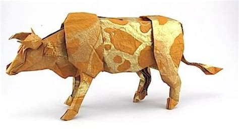 Origami Cow - origami amazing origami cow origami cow origami