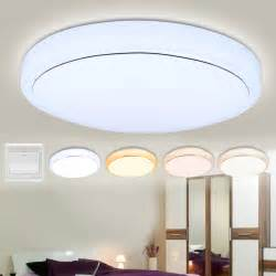 Kitchen Lighting Ceiling 18w Led Ceiling Light Flush Mounted Fixture L Living Bedroom Kitchen Us Ebay