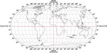 latitude longitude outline map worldatlas
