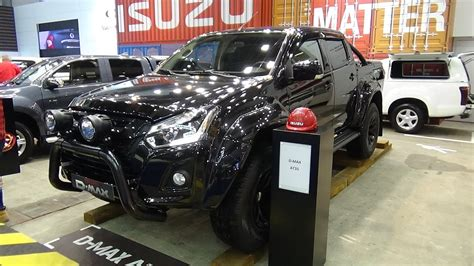 isuzu  max  exterior  interior auto show