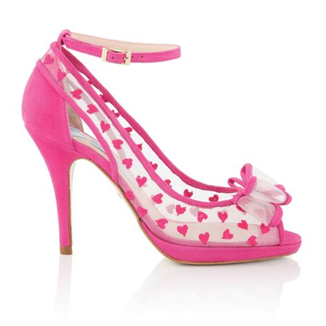 Pink Wedding Shoes by New Styles Of Pink Wedding Shoes Arrive At Bridal