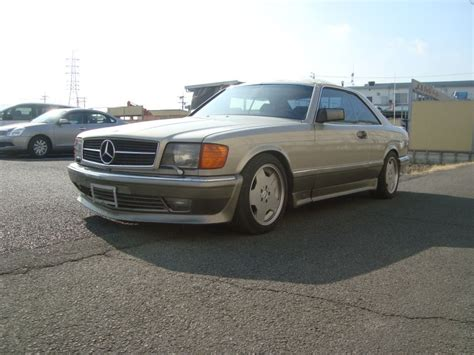 mercedes 560sec 1986 used for sale