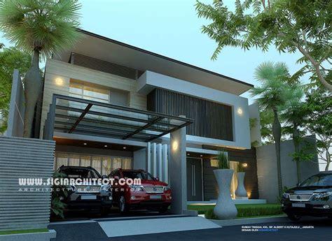 rumah mewah  lantai kolam renang modern minimalis home pinterest modern house