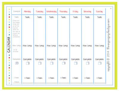 Printable Monthly Task Calendars Calendar Template 2018 Task Calendar Templates