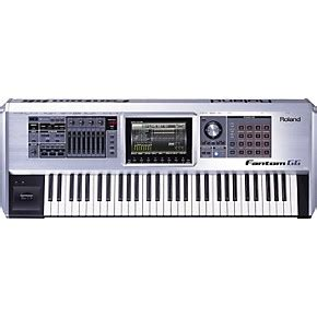 Keyboard Roland 7 Oktaf roland fantom g6 workstation keyboard musician s friend