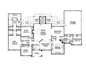 House Plans For One Story Homes One Story Country House Plans