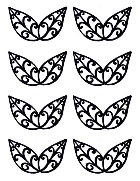 chocolate stencil templates leaves stencil same directions as the butterfly stencil