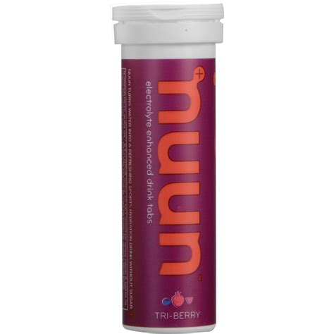 hydration tablets nuun active hydration tablets tri berry 8 pack