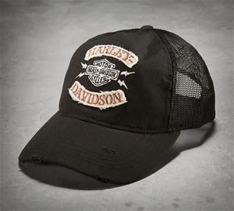 Trucker Hat Jaring Harley Davidson Imbong 1 s rocker trucker cap harley davidson rockers and cap d agde
