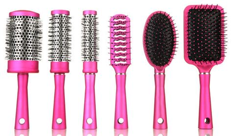 Hair Brush Types by Types Of Hair Brushes To Use For Different Hair Types A
