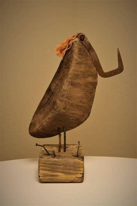 pelikan handmade by len www studio lenart de - Len Aus Treibholz