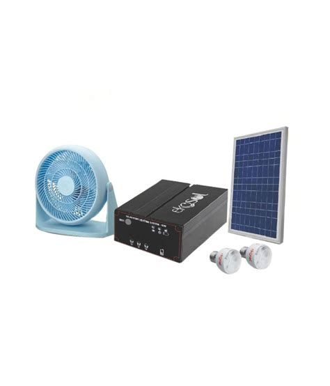 Solar Lighting Cost Ekosol 24 W Solar Home Lighting System Solar Emergency