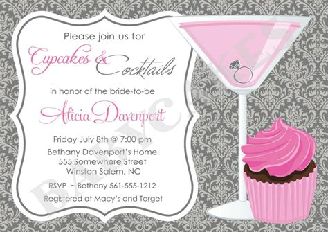 free templates for cocktail invitations cocktail party invitation card template home party theme
