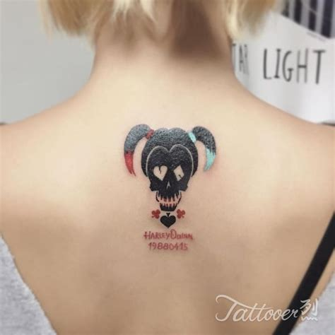 45 harley quinn tattoo design ideas to style your body
