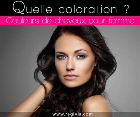 Cheveux Court Ou Comment Choisir coloration cheveux femme comment choisir sa couleur de