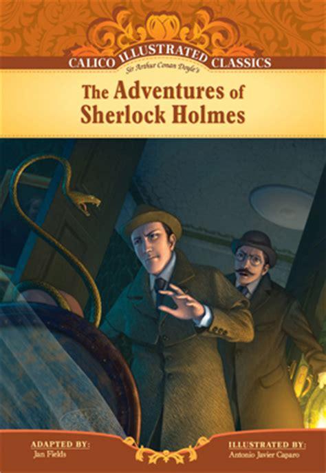 calico illustrated classics gt series gt abdo adventures of sherlock abdo