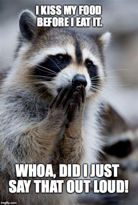 Raccoon Memes - surprised raccoon imgflip