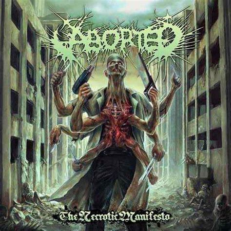aborted necrotic manifesto lyrics aborted the necrotic manifesto encyclopaedia metallum