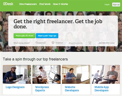 odesk mobile site top 10 highest paying freelance for designers