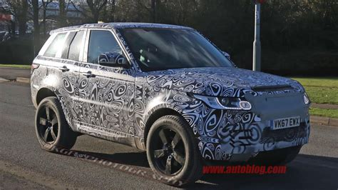 new land rover defender spy land rover defender pickup truck reportedly in the works