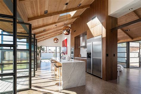 bungalow renovation and addition traditional kitchen glass and metal addition transforms 1920s bungalow in phoenix