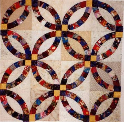 How To Make A Wedding Ring Quilt by Lifeideasguide Home Interior Design Ideas Living