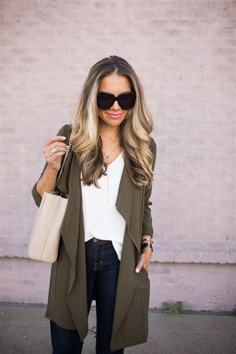 Fashion Find Front Drape Jacket by 1000 Ideas About Olive Jacket On Olive