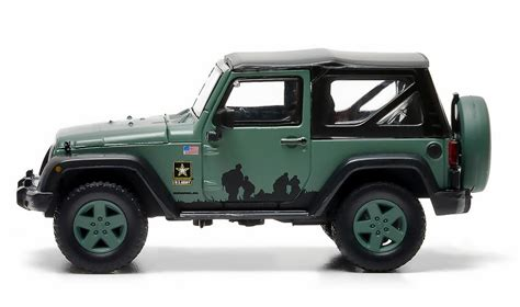 jeep wrangler army jeep wrangler army diecast vehicle 86043