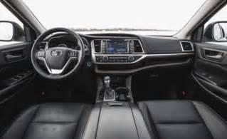 Toyota Highlander Interior Colors 2018 Toyota Highlander Review Release Date Colors Us