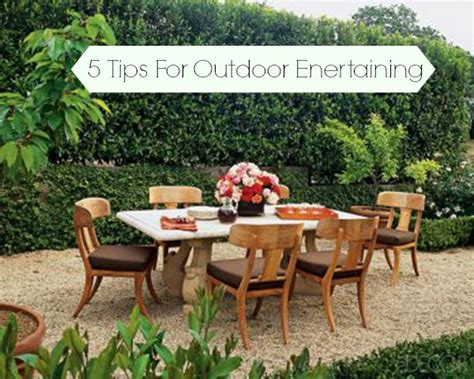 outdoor entertaining ideas 5 tips for outdoor entertaining b lovely events