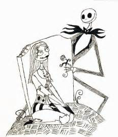 Printable nightmare before christmas coloring pages best coloring