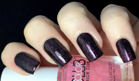 Ri Cp Maroon nail wars color club made in new york collection