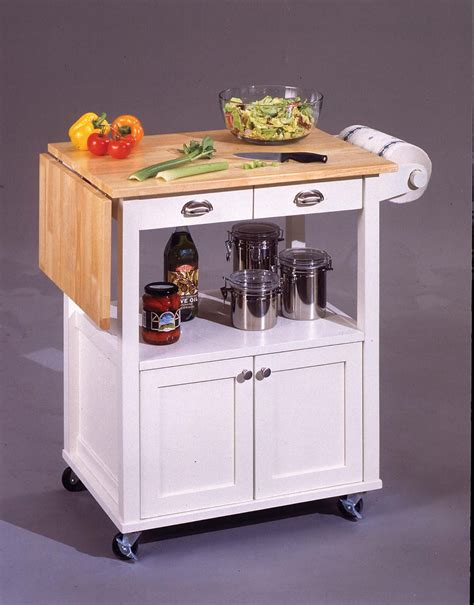 portable kitchen island with drop leaf small kitchen carts and islands bars for small spaces