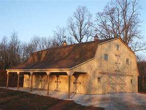 Gambrel Roof Pole Barn by Gambrel Roof Pole Barn Home