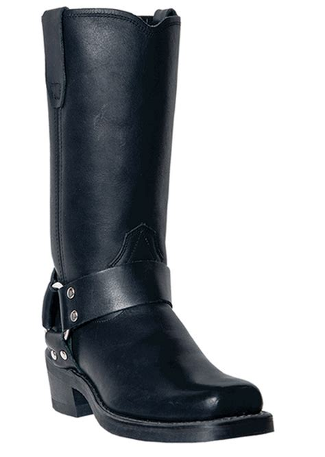 womens black leather biker boots dingo boots molly women s 10 quot biker harness leather