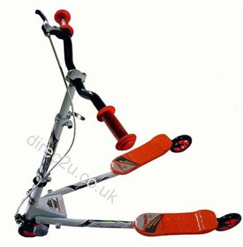 3 wheel swing scooter kids mini speeder scooter 3 wheels fliker swing slider